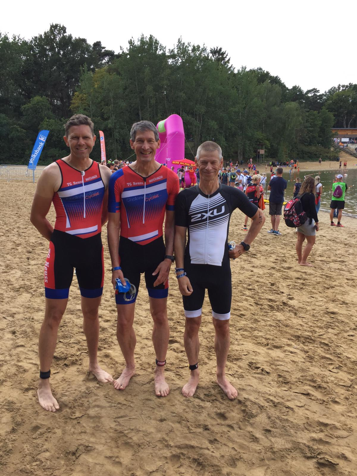 Fünf TG-ler beim Sassenberger Triathlon