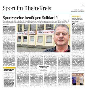 Sportvereine benötigen Solidarität