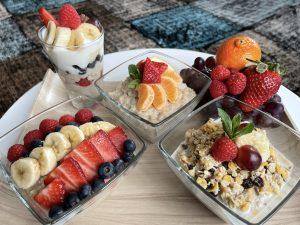 gesunde und ausgewogene Frühstücksideen
