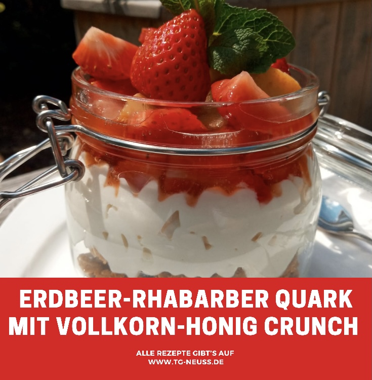 Erdbeer-Rhababer Quark