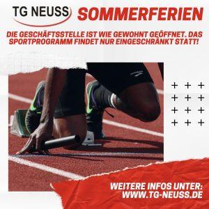 Read more about the article Trainingszeiten in den Sommerferien