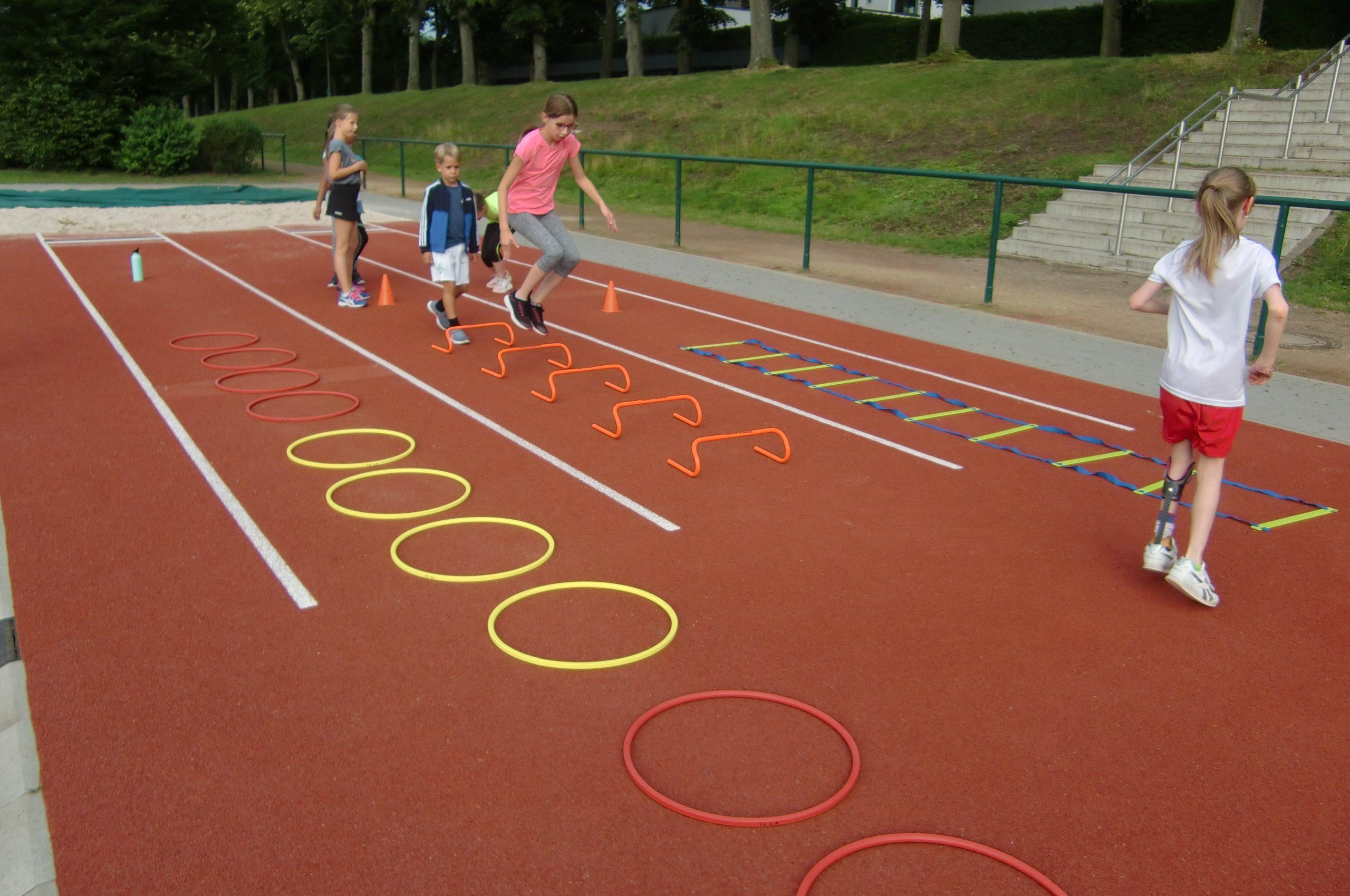Nachbericht Leichtathletik Feriencamp