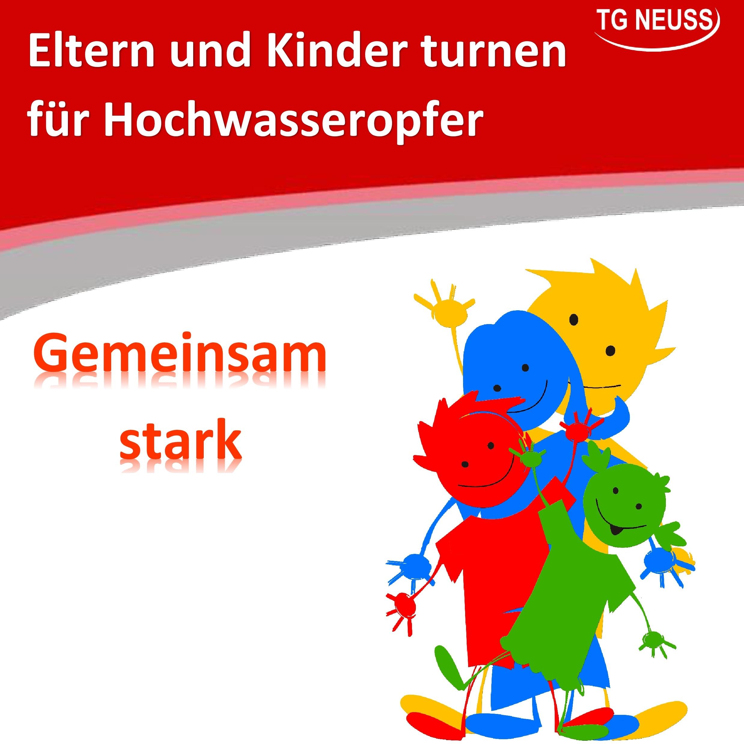 Read more about the article Eltern und Kinder turnen für Hochwasseropfer