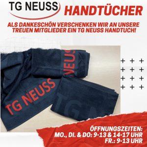 Read more about the article Handtücher für unsere Mitglieder