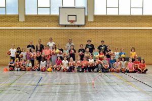 """Read more about the article Erfolgreicher Aktionstag """"Kids back on Court"""""""