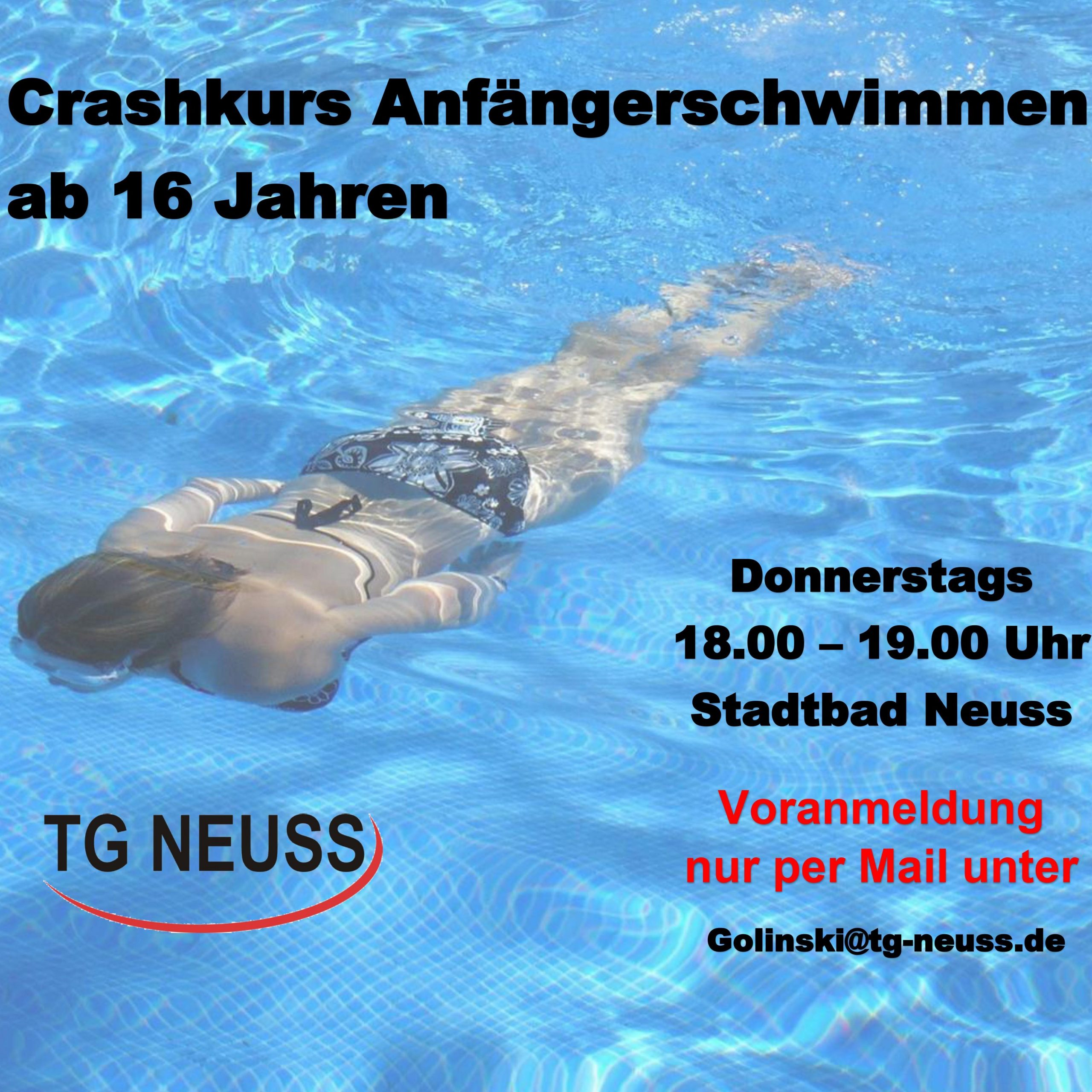 You are currently viewing Anfängerschwimmen ab 16 Jahre